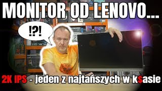 Lenovo L27Q-10 - Panie, da się na tym grać? TEST i Recenzja - VBT