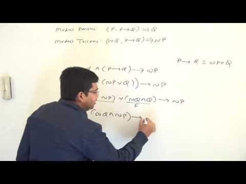 GATE - Maths - Propositional Logic - Logical Consequences -  Modus Ponens And Modus Tollens