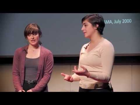 Empty healing: Mali Bowers and Natalie Nazarian at TEDxGallatin 2014