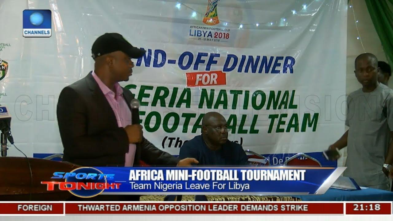 Team Nigeria Leave For Africa Mini-Football Tournament | Sports Tonight |