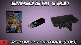 The Simpsons Hit & Run - PS2 FMCB USB OPL Tutorial (2019)