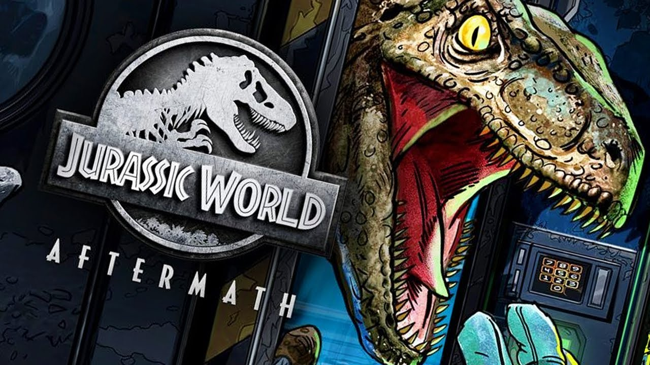 Jurassic World Aftermath  OFFICIAL TRAILER