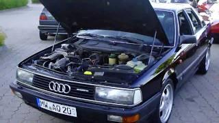 Audi 100 Sport(Mein Audi 100 Sport Turbo quattro beim wöchentlichen Treffen im Chemnitz Center. Laut KBA mit diesen Schlüsselnummern noch 72 zugelassene ..., 2010-07-03T16:22:54.000Z)