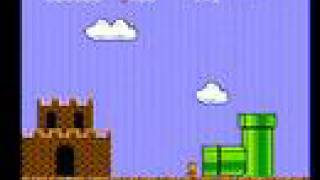 Super Mario Bros. 256W T-1 (funny scene)