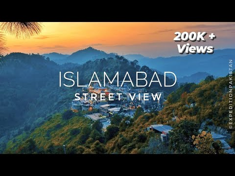 ISLAMABAD City Street View (2020) - Expedition Pakistan