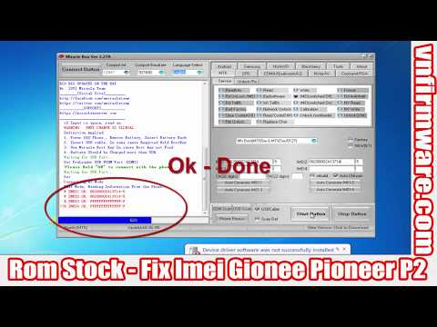 Repeat Gionee p2 hang on logo solution/ how to flash Gionee