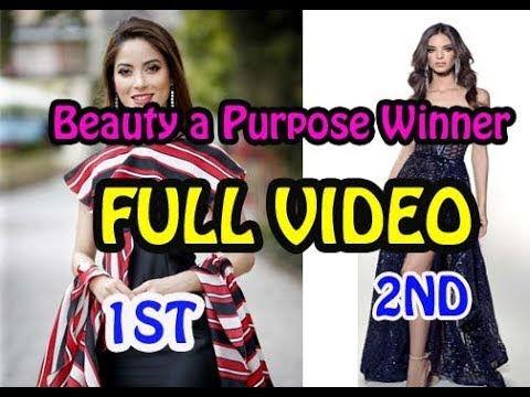 MISS WORLD 2018 | Beauty a Purpose Winner NEPAL & MEXICO | SHRINKHALA KHATIWADA & Vanessa PONCE DE