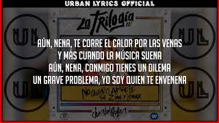 No Quiero Amarte  - Justin Quiles (ft Zion y Lennox) (Letra) (Video Lyric) UL