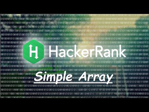 Hacker Rank Simple Array Sum