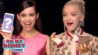 Dove Cameron and Sofia Carson Take the Descendants Quiz | Oh My Disney