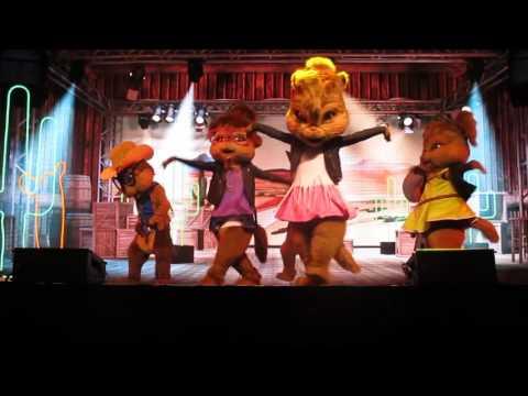 alvin & the chipmunks live - cottoneyed joe- cape girardeau, mo. 11/17/15