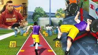MADDEN 07 SUPERSTAR MODE - THE NFL COMBINE!