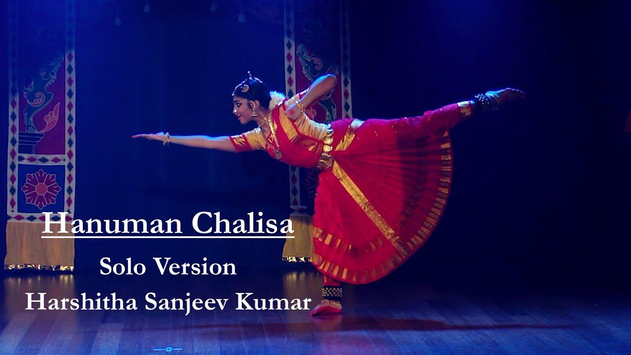Hanuman Chalisa - Solo version by Harshitha Sanjeev Kumar - Sridevi Nrithyalaya - Bharathanatyam