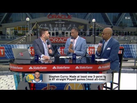 The Crew Discusses Steph Curry & Kevin Durant In Game 1 | NBA GameTime | June 1, 2018