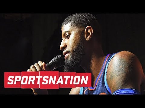 Paul George calls trade to Thunder a 'kick in the behind' | SportsNation | ESPN
