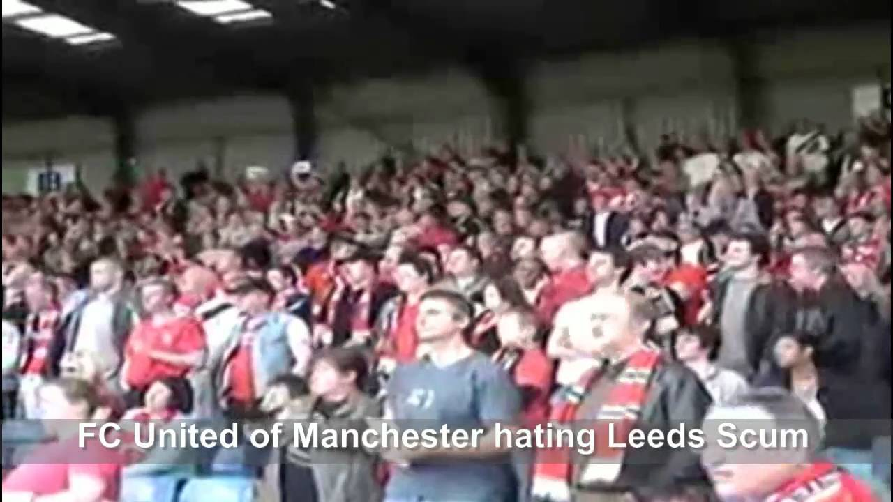 We All Hate Leeds Scum Compilation Youtube