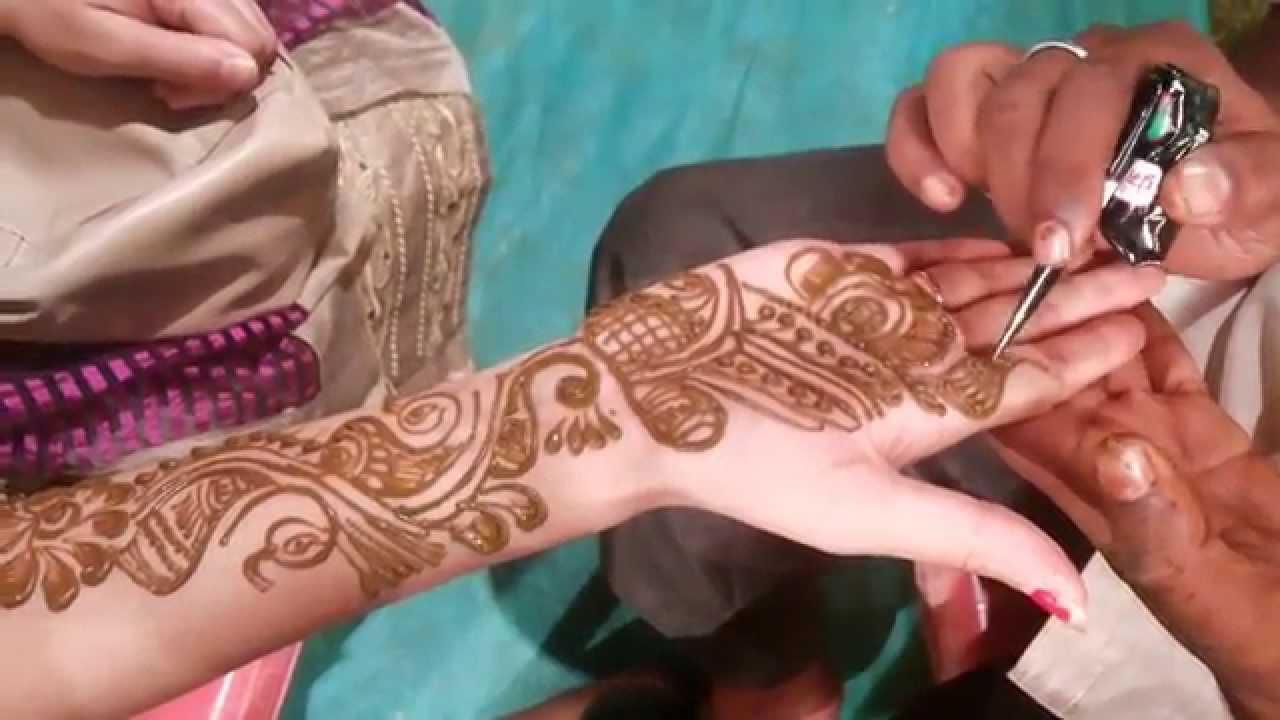 Henna Tattoo Designs Arabic Mehndi Design For Hands Youtube