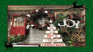 Shop With Me Christmas Home Decor At Big Lots! 2018p