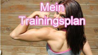 Mein Trainingsplan - 3er Split │Fit Miri