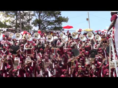 Alabama A&M University Band 2014 @ Tuskegee - I Know