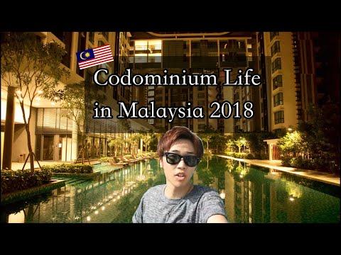 Condominium Life in Malaysia 2018 マレーシアのコンドミニアム生活こんな感じ