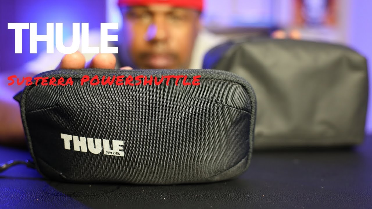 Thule Subterra PowerShuttle Mini: i'm losing edc organizer WEIGHT!
