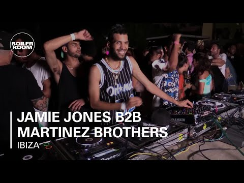 Jamie Jones B2B Martinez Brothers Boiler Room Ibiza DJ Set