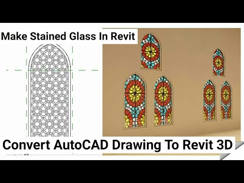 Islamic Window Design In Revit Architecture - CAD Needs