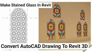 Revit Architecture | Stained Glass In Revit |Islamic Window Design