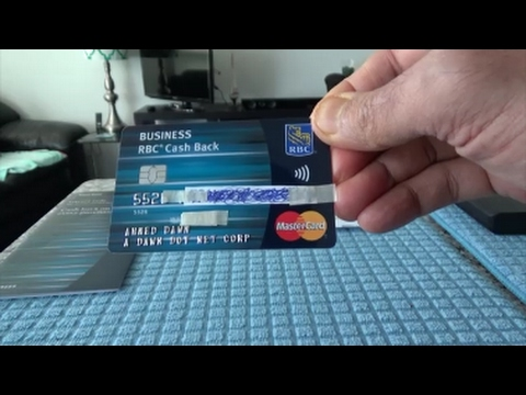 RBC Business Cash Back MasterCard Unboxing and Review by Financial Author Ahmed Dawn