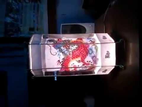 đèn kéo quân ( dùng môtơ chậm) _ kênh chế tác