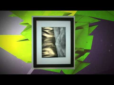 11x14 Photo Wood Frame with Mat for 8x10 Picture BLACK - YouTube