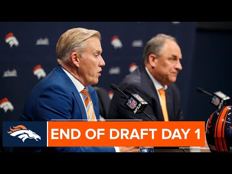 Elway and Fangio break down Day 1 of the 2019 NFL Draft