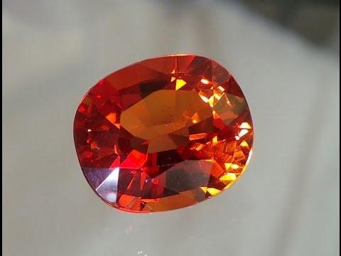 Padparadscha Sapphire 9 45 cts