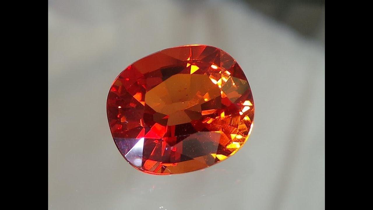 Padparadscha Sardonyx Rhodonite Padparadscha Sapphire