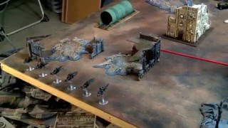 Dark Eldar vs AlphaLegion Painted Warhammer 40k Battle Report 1500pts