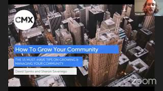[Webinar] How to Grow Your Online Community