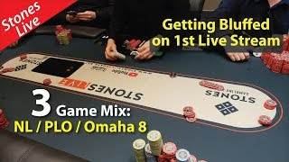 Poker Vlog 19: My 1st Live Stream (re-upload)
