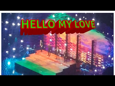 WESTLIFE AT THE NTA DOING HELLO MY LOVE 2019