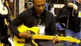 Ray Parker Jr. @ the LsL booth, NAMM 2013