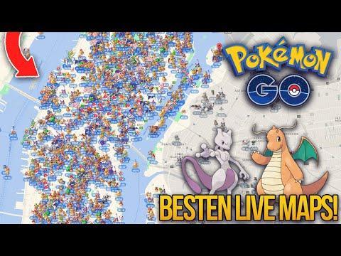 Mit diesen zwei POKEMON GO LIVE MAPS! findest du JEDES SELTENE POKÉMON! | Pokemon go deutsch