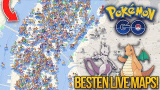 Mit diesen zwei POKEMON GO LIVE MAPS! findest du JEDES SELTENE POKÉMON! | Pokemon go deutsch Free HD Video