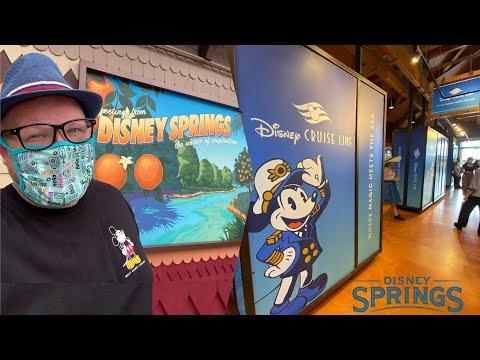New Disney Cruise Line Pop-Up Shop at Disney Springs | World of Disney Shopping & The Edison Drinks