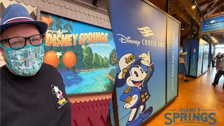 New Disney Cruise Line Pop-Up Shop at Disney Springs | World of Disney Shopping & The Edison Drinks