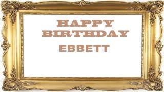 Ebbett   Birthday Postcards & Postales - Happy Birthday