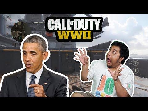 Obama Main Bareng Tara Arts Di Call Of Duty World War 2! (Obama Voice Impression) thumbnail