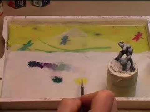 Painting miniatures in your living room with Jérémie Bonam
