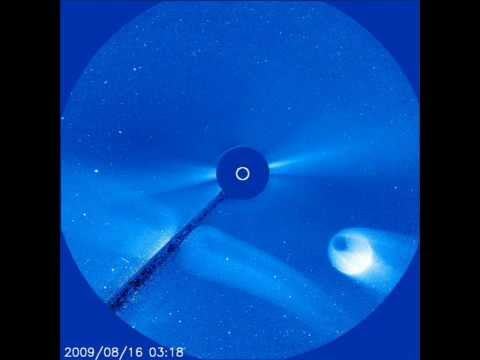 UFO Pictures from NASA's SOHO Satellite