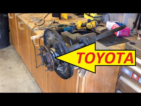 Toyota Pickup Rear Axle Wheel BearingSeal Replacement  YouTube