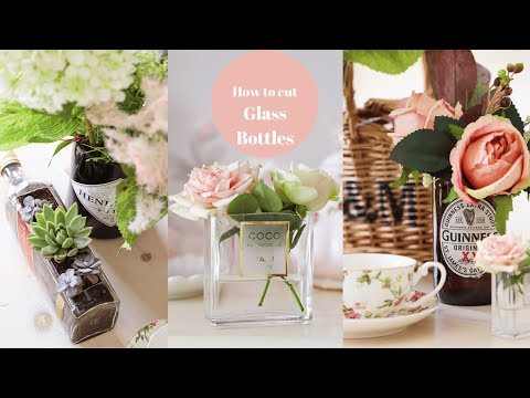 How to cut glass and recycle bottles, DIY my rubbish
